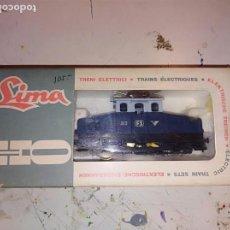 Trenes Escala: LOCOMOTORA LIMA H0 CON CAJA ORIGINAL REF. 3109. Lote 153833170