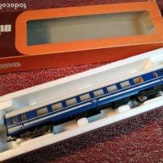 Trenes Escala: LIMA REF: 9139- COCHE DE PASAJEROS LIMA-H0-COACH BLUE TRAIN- ESCALA H0---1:87 SCALE. Lote 154761826