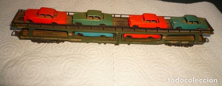 Trenes Escala: VAGON LIMA H0 PORTACOCHES REF. 9054 Y TRS TRAMOS RECTOS 222 MM - Foto 10 - 141603182