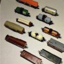 Trenes Escala: 12 VAGONES DE CARGA LIMA. Lote 157126710