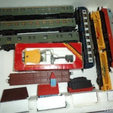 Trenes Escala: LOTE DE MATERIAL FERROVIARIO DE LA MARCA LIMA EN ESCALA H0. Lote 158317786