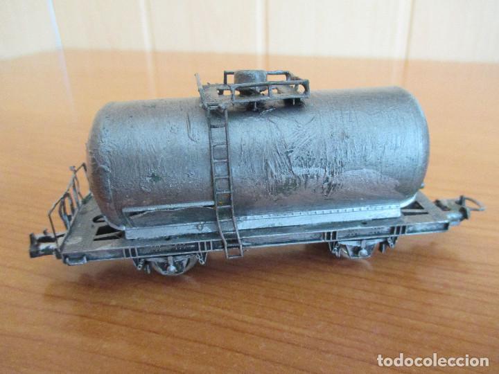 Trenes Escala: LIMA H0: VAGON CISTERNA CUSTOMIZADO - Foto 2 - 158435658