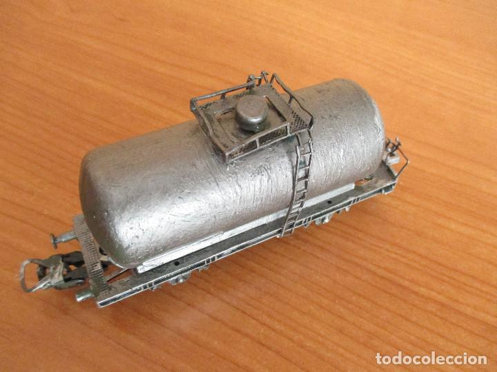 Trenes Escala: LIMA H0: VAGON CISTERNA CUSTOMIZADO - Foto 4 - 158435658