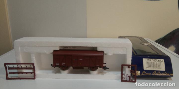 LIMA REF 303633KS VAGON CERRADO RENFE JVC 400002 (Toys - Trains H0 Scale - Lima H0)
