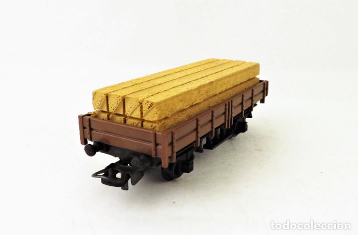 Trenes Escala: Lima Vagón con carga madera. Caja original - Foto 3 - 160817970