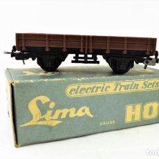 Trenes Escala: LIMA VAGÓN BORDE BAJO. CAJA ORIGINAL. Lote 160818070