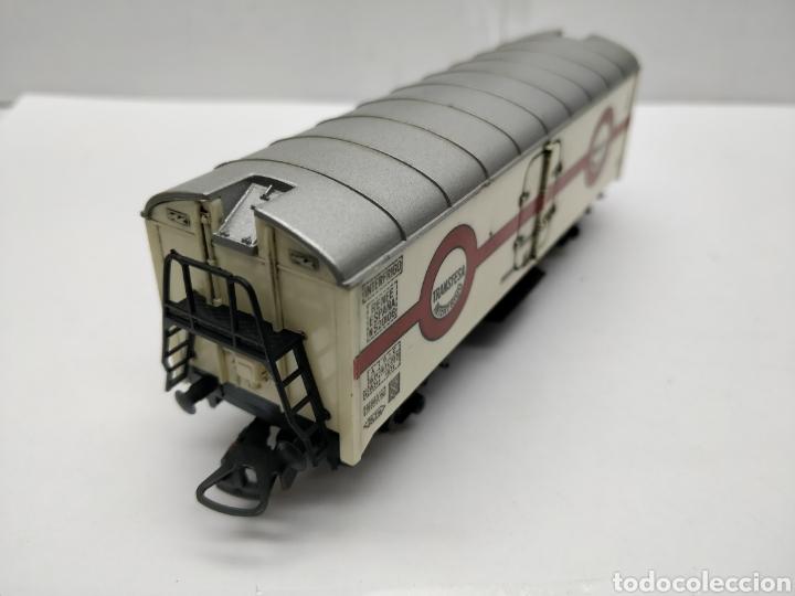 Trenes Escala: Lima - Vagón de mercancías cerrado Transfesa Interfrigo Renfe España - Escala H0 - Foto 4 - 163024165