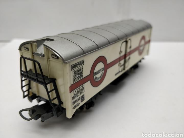 Trenes Escala: Lima - Vagón de mercancías cerrado Transfesa Interfrigo Renfe España - Escala H0 - Foto 3 - 163024165