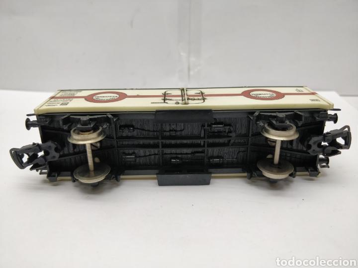 Trenes Escala: Lima - Vagón de mercancías cerrado Transfesa Interfrigo Renfe España - Escala H0 - Foto 5 - 163024165