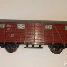 Trenes Escala: VAGON CARGA MADERA LIMA. Lote 164094766