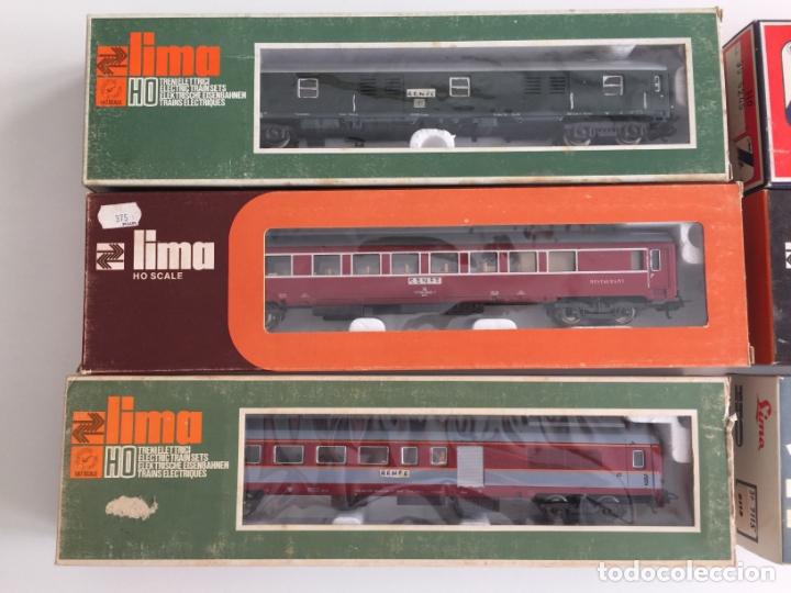 Trenes Escala: LOTE DE 6 VAGONES LIMA ESCALA H0 REF. 9115 , 9311, 9117 , 9207 , 9245, 9314 , EN CAJA - Foto 2 - 166694866
