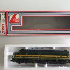 Trenes Escala: LOCOMOTORA DIESEL SERIE 1600 RENFE ALCO EN CAJA REF. 208106 LG . Lote 166695482
