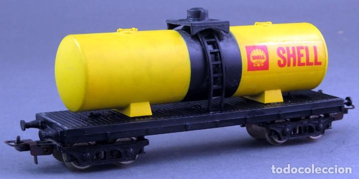 Trenes Escala: Vagón cisterna Shell Lima H0 - Foto 2 - 167715392