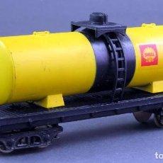 Trenes Escala: VAGÓN CISTERNA SHELL LIMA H0. Lote 167715392