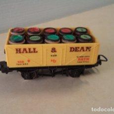 Trenes Escala: VAGÓN H0 HALL & DEAN LIMA. Lote 174168728