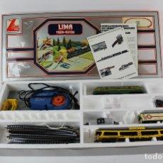 Trenes Escala: LIMA TREN AUTOS. ITALIA. MEDIADOS S.XX. . Lote 174223797