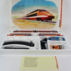 Trenes Escala: CAJA TREN MARCA LIMA. TGV. OBSEQUIO SCHINDLER. EXPO'92.. Lote 174231307
