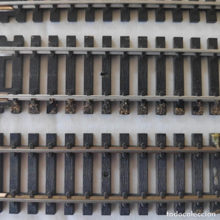 Trenes Escala: Lote de 9 vías rectas Lima H0 3020. Usadas N2 - Foto 2 - 186119951