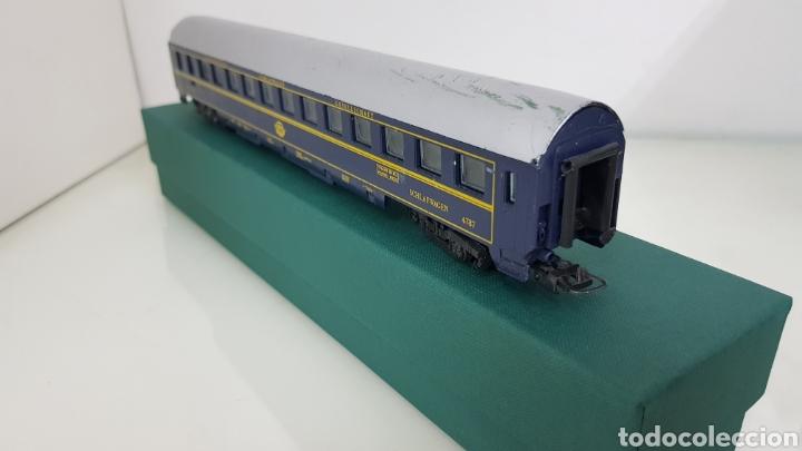 Trenes Escala: Lima vagón de las compañías de los grandes expresos europeos lits 27 cm le faltan los topes - Foto 2 - 177486728