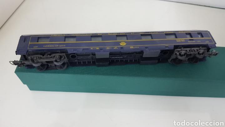 Trenes Escala: Lima vagón de las compañías de los grandes expresos europeos lits 27 cm le faltan los topes - Foto 3 - 177486728