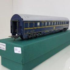 Trenes Escala: LIMA VAGÓN DE LAS COMPAÑÍAS DE LOS GRANDES EXPRESOS EUROPEOS LITS 27 CM LE FALTAN LOS TOPES. Lote 177486728