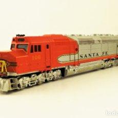 Trenes Escala: LIMA. LOCOMOTORA SANTA FE. 106 DC H0. Lote 177561669