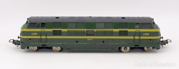 Trenes Escala: LOCOMOTORA LIMA RENFE 4008 - ESCALA H0 - ITALIA - Foto 2 - 178322288