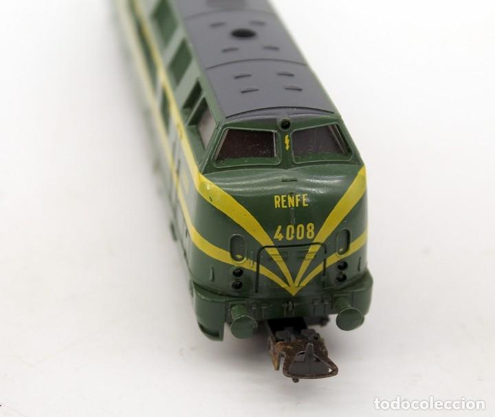 Trenes Escala: LOCOMOTORA LIMA RENFE 4008 - ESCALA H0 - ITALIA - Foto 3 - 178322288