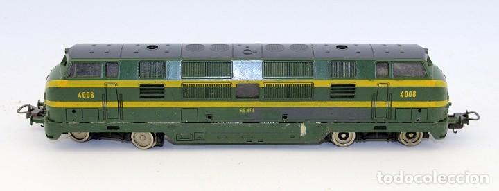 Trenes Escala: LOCOMOTORA LIMA RENFE 4008 - ESCALA H0 - ITALIA - Foto 4 - 178322288