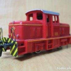 Trenes Escala: LOCOMOTORA TRACTOR DE MANIOBRAS FLEISCHMAN. Lote 179130883