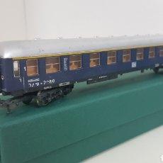 Trenes Escala: LIMA VAGÓN DE PASAJEROS DE PRIMERA CLASE ALEMÁN DE LA DB ESCALA H0 27 CM. Lote 181485012