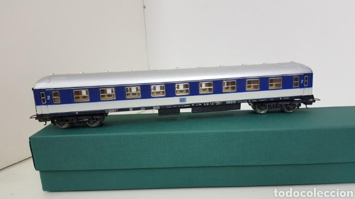Trenes Escala: Vagón de pasajeros de segunda clase Lima de la DB alemán escala H0 corriente continua de 27 cm - Foto 2 - 181490097