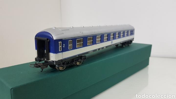 Trenes Escala: Vagón de pasajeros de segunda clase Lima de la DB alemán escala H0 corriente continua de 27 cm - Foto 3 - 181490097