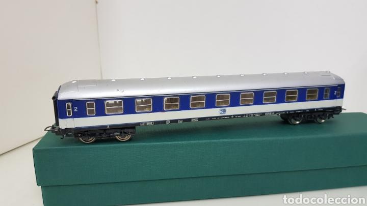 Trenes Escala: Vagón de pasajeros de segunda clase Lima de la DB alemán escala H0 corriente continua de 27 cm - Foto 4 - 181490097