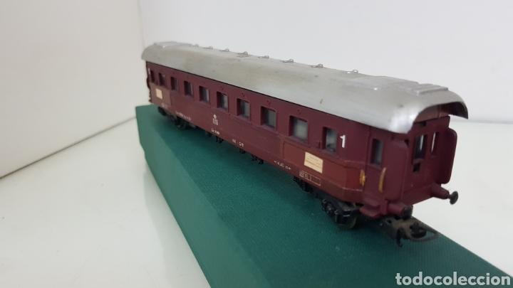 Trenes Escala: Lima vagón de primera clase de la DSB escala H0 corriente continua de 22 centímetros granate - Foto 2 - 181578413