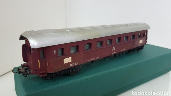 Trenes Escala: Lima vagón de primera clase de la DSB escala H0 corriente continua de 22 centímetros granate - Foto 3 - 181578413