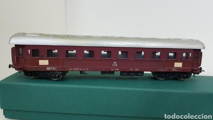 Trenes Escala: Lima vagón de primera clase de la DSB escala H0 corriente continua de 22 centímetros granate - Foto 4 - 181578413