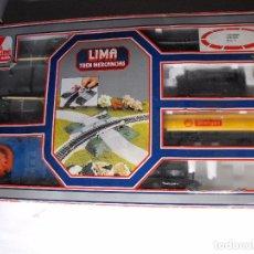 Trenes Escala: LIMA. TREN ELÉCTRICO DE MERCANCIAS. ESCALA H0.. Lote 182166158