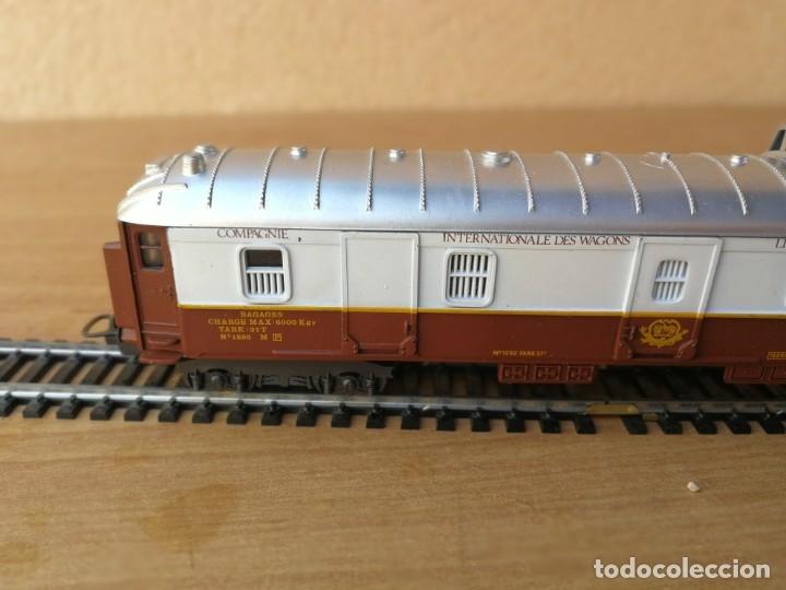 Trenes Escala: VAGÓN DE PASAJEROS MARCA LIMA COMPAGNE INTERNATIONAL DES WAGONS LITS EXPRÉS EUROPA - Foto 5 - 182487287