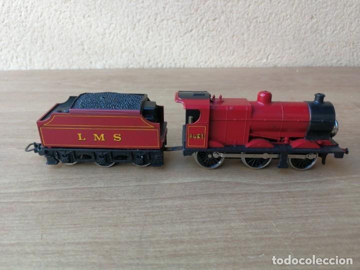 Trenes Escala: LOCOMOTORA MÁQUINA DE VAPOR MARCA LIMA 4683 LSM - Foto 11 - 182488587