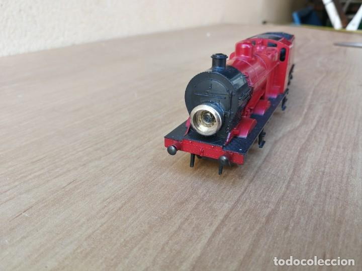 Trenes Escala: LOCOMOTORA MÁQUINA DE VAPOR MARCA LIMA 4683 LSM - Foto 15 - 182488587
