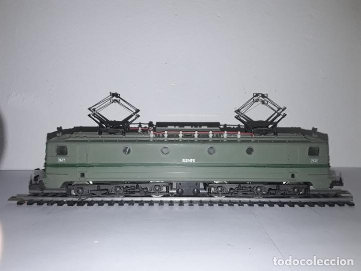 Trenes Escala: Locomotora lima 7637 renfe escala H0 - Foto 2 - 182719451