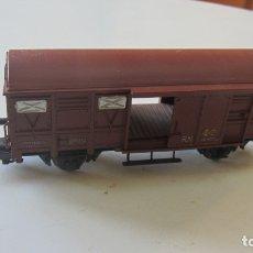 Trenes Escala: MAQUETA PARA TRENES VAGON MERCANCIAS PUERTAS CORREDERAS ESCALA H0. Lote 183172316