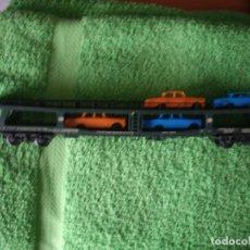Trenes Escala: VAGÓN PORTACOCHES,. Lote 183409646