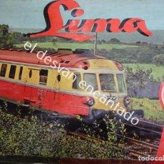 Trenes Escala: ANTIGUO TREN LIMA ESCALA H0 EN CAJA ORIGINAL. VER FOTOS. Lote 183471195
