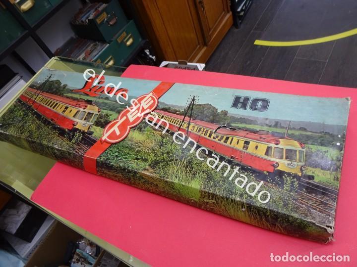 Trenes Escala: Antiguo tren LIMA escala H0 en caja original. VER FOTOS - Foto 2 - 183471195