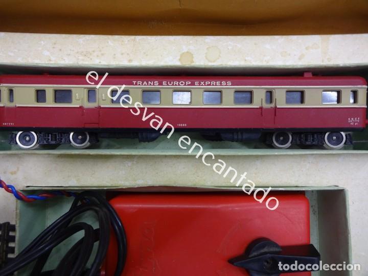 Trenes Escala: Antiguo tren LIMA escala H0 en caja original. VER FOTOS - Foto 8 - 183471195