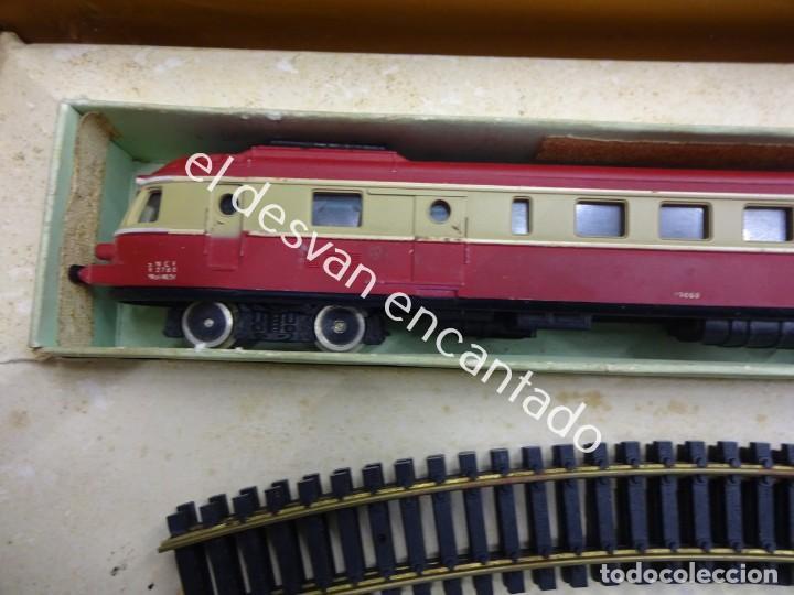 Trenes Escala: Antiguo tren LIMA escala H0 en caja original. VER FOTOS - Foto 10 - 183471195