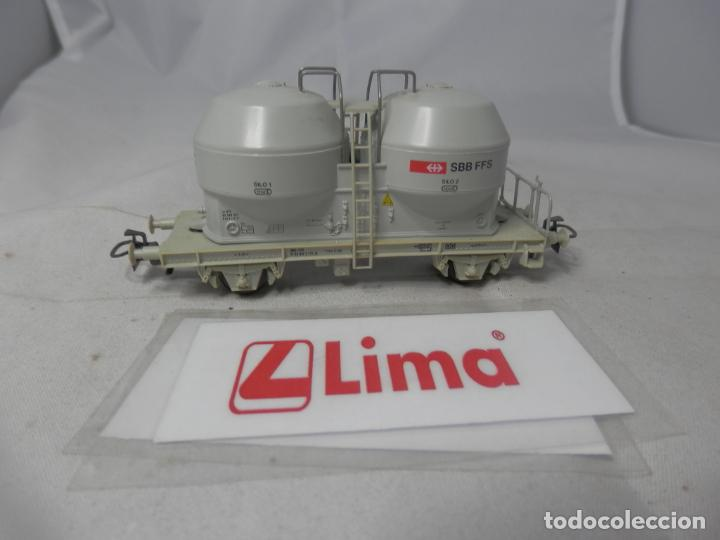 VAGÓN SILO ESCALA HO DE LIMA (Juguetes - Trenes a Escala H0 - Lima H0)