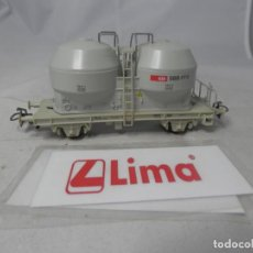 Trenes Escala: VAGÓN SILO ESCALA HO DE LIMA . Lote 184364892